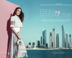 FENDI Jamalouki Magazine March 2015