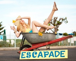 Escapade shoes advertising campaign
