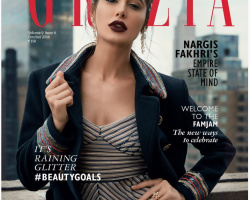 Nagris Fakhri in NYC for Grazia Magazine Oct 2016