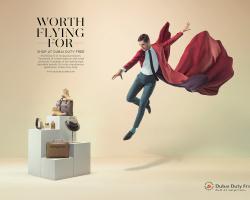 Dubai Duty Free Advertising Campaign