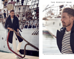 The special fashion story for Perfect Man magazine